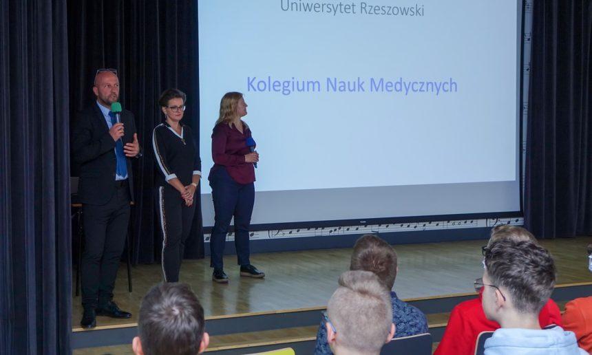 Wizyta delegatów Kolegium Nauk Medycznych Uniwersytetu Rzeszowskiego