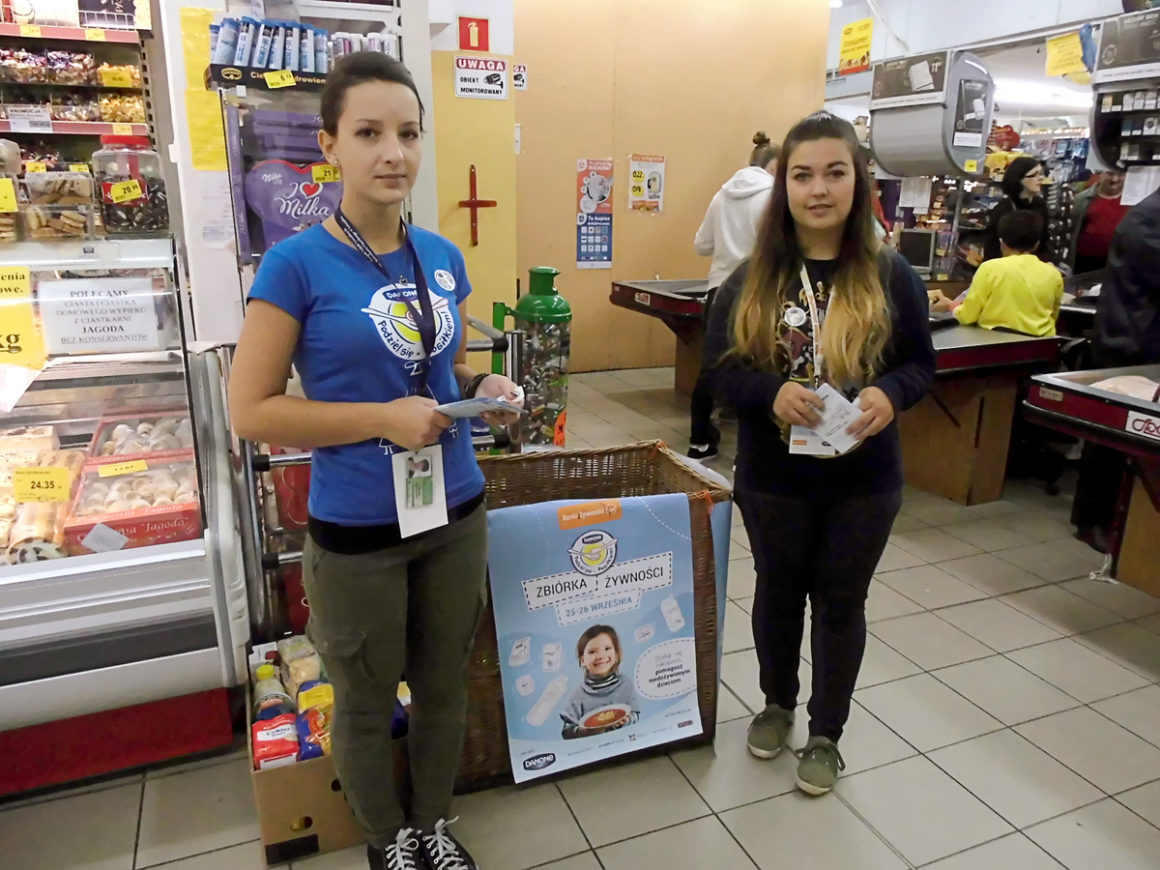 Wolontariusze w akcji